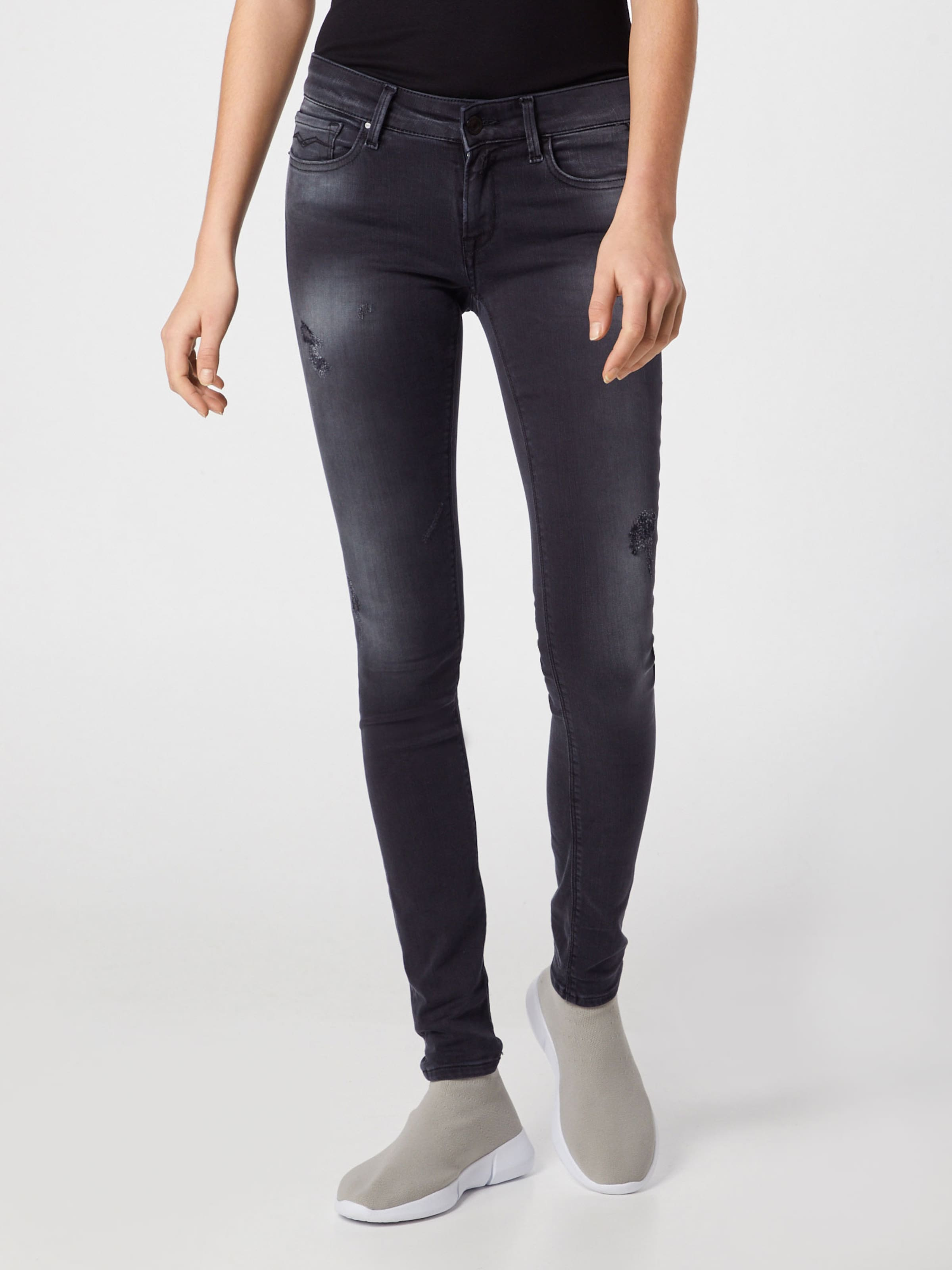 Jeans Grey Denim Replay 'luz' In sBdCxthrQ