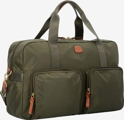 Bric's X-Travel Messenger Tasche in oliv: Frontalansicht