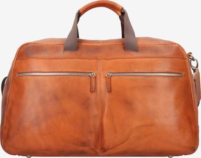 LEONHARD HEYDEN Weekendtas 'Amsterdam' in de kleur Cognac, Productweergave