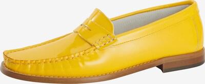 heine Slipper in gelb: Frontalansicht