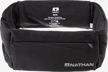 NATHAN Bauchtasche in Schwarz