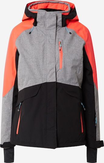 KILLTEC Sports jacket 'Savognin' in grey / coral / black, Item view