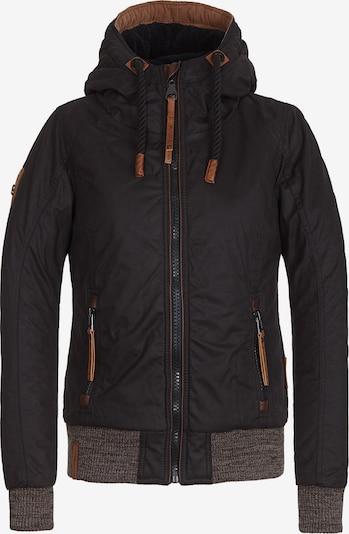 naketano Jacket in schwarz: Frontalansicht