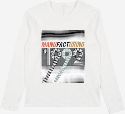 NAME IT Shirt 'KUNO' in de kleur Donkerblauw / Mosterd / Mintgroen / Koraal / Wit, Productweergave