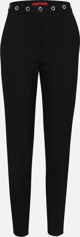 Pantalon 'holisy In Zwart Hugo 1' Nm80wvn
