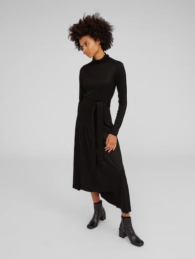 EDITED Obleka 'Aiyana' | črna barva: Frontalni pogled