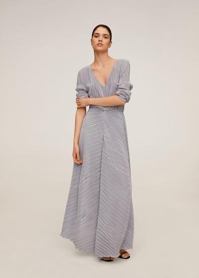 MANGO Kleid 'zafiro' in silber, Modelansicht