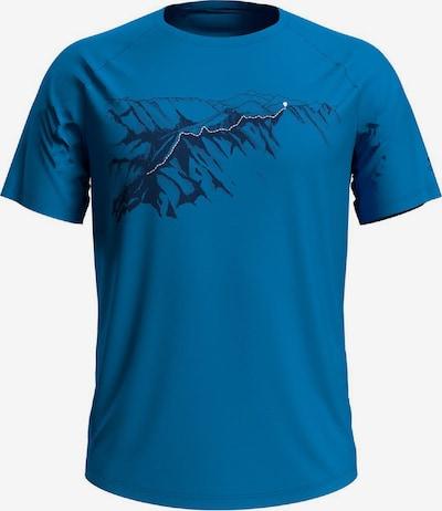 ODLO T-Shirt in blau / schwarz, Produktansicht