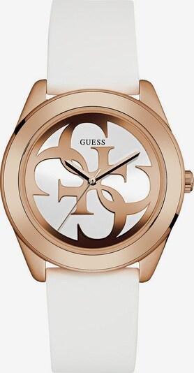 GUESS Quarzuhr 'G TWIST' in gold / weiß, Produktansicht