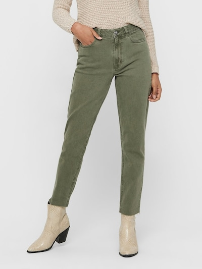 ONLY Hose in khaki, Modelansicht