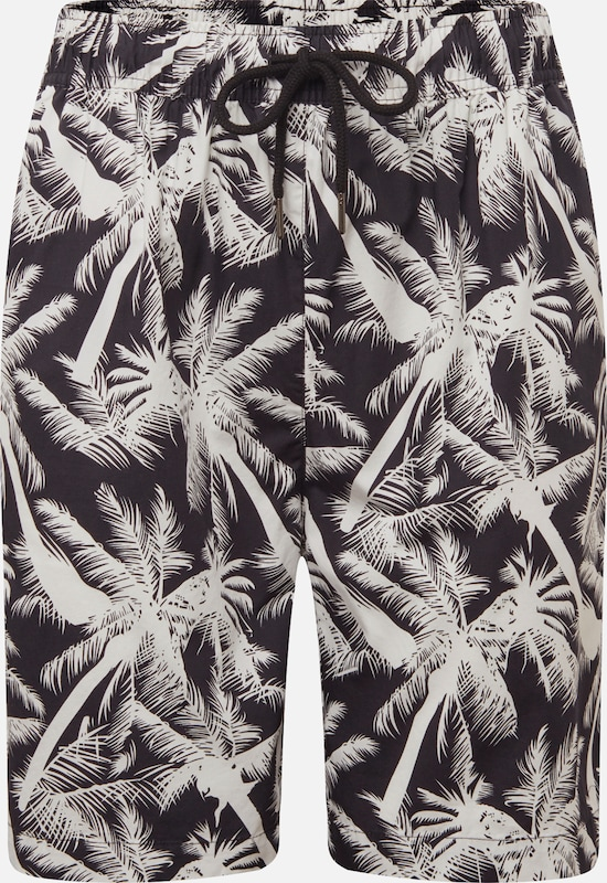NoirBlanc Urban En Pantalon Resort' 'pattern Classics shdtQr