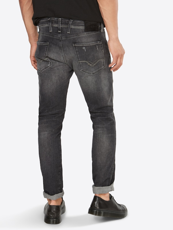 Replay En Denim Jean Gris 'anbass' FuJ3TlK1c