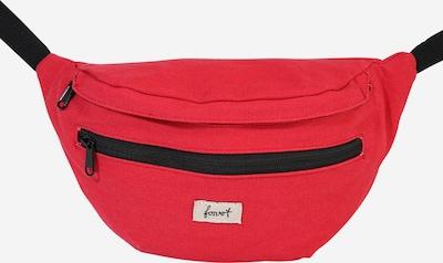 Forvert Tasche 'Chris' in rot / schwarz, Produktansicht