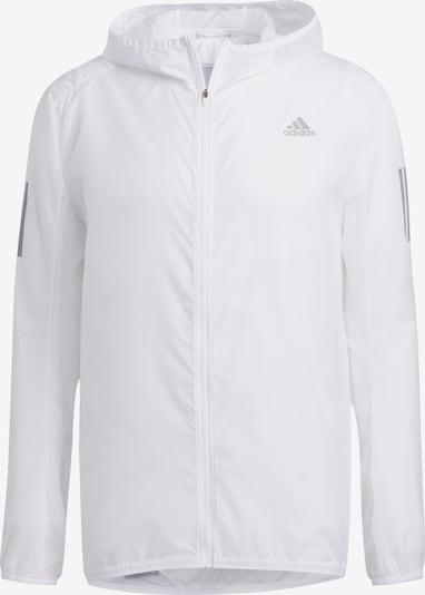 ADIDAS PERFORMANCE Jacke in grau / weiß, Produktansicht