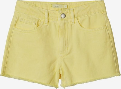 NAME IT Regular Mom Fit Shorts in gelb, Produktansicht