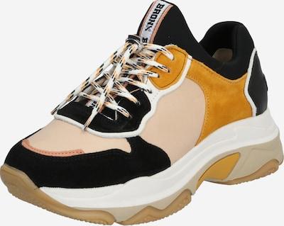 bézs / taupe / fekete BRONX Rövid szárú edzőcipők 'Baisley', Termék nézet