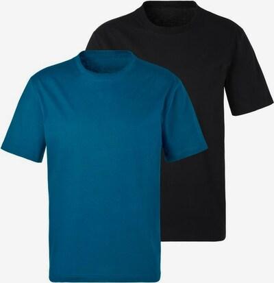 BENCH Shirts in himmelblau / schwarz, Produktansicht