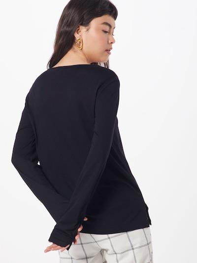 TOM TAILOR Majica   črna barva: Pogled od zadnje strani
