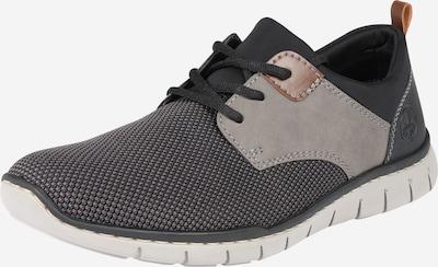 RIEKER Sneaker 'B8764-43' in grau / anthrazit, Produktansicht