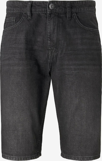 TOM TAILOR Shorts  in black denim, Produktansicht