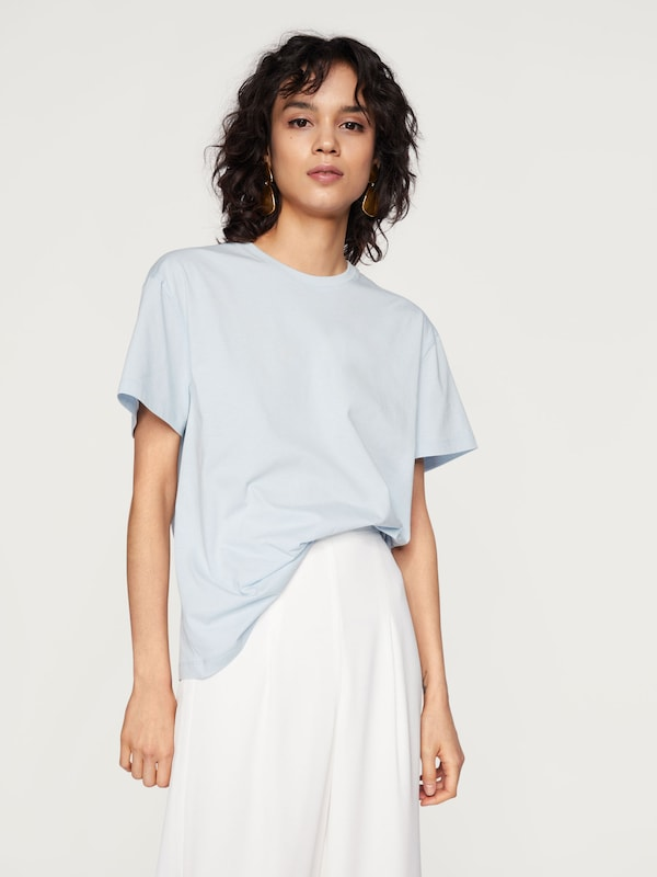 'tara' Edited Clair En shirt T Bleu DIW9EHY2