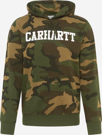 Carhartt WIP Sweatshirt in de kleur Bruin / Groen / Olijfgroen, Productweergave