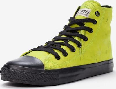 Ethletic Sneaker in gelb / schwarz: Frontalansicht