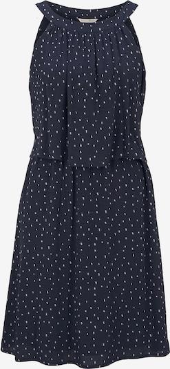 TOM TAILOR DENIM Kleid in marine / weiß, Produktansicht