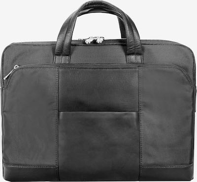 Dermata Laptoptas in de kleur Zwart, Productweergave