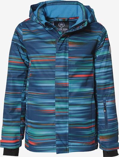 COLOR KIDS Skijacke in blau / dunkelblau / rot, Produktansicht