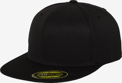 Flexfit Premium 210 Fitted Cap in schwarz, Produktansicht