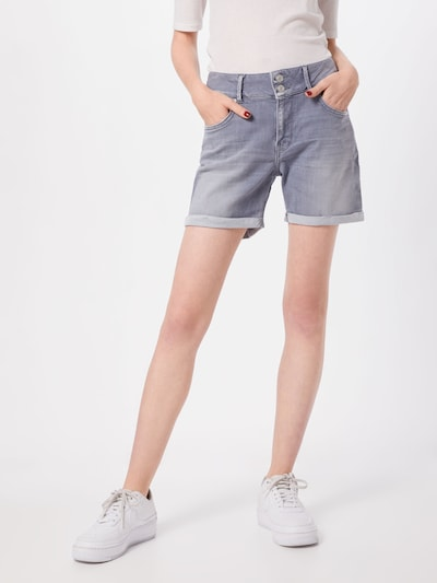 LTB Shorts 'BECKY' in grau: Frontalansicht