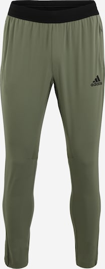 ADIDAS PERFORMANCE Sporthose  'CITY WV PANT' in khaki, Produktansicht