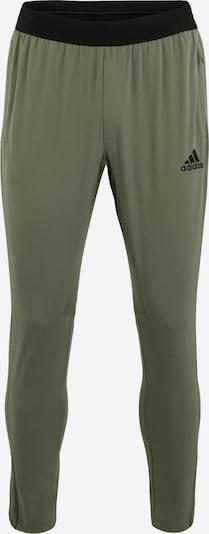 ADIDAS PERFORMANCE Spodnie sportowe 'CITY WV PANT' w kolorze khakim, Podgląd produktu
