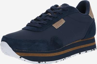 WODEN Sneaker 'Nora II' in beige / navy, Produktansicht