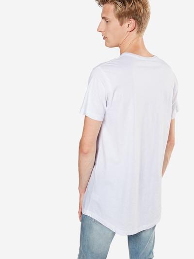 Tricou Urban Classics pe alb: Privire spate