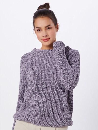 OPUS Pullover 'Parto mouline' in lila / weiß, Modelansicht