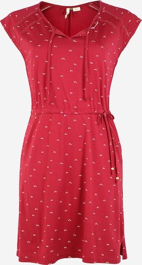 Ragwear Plus Kleid 'TETUAN' in rot, Produktansicht