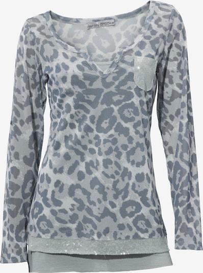 heine Druckshirt mit Top in grau / dunkelgrau, Produktansicht