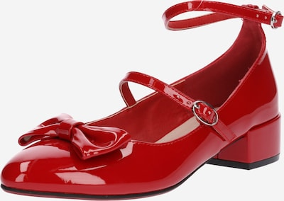 ABOUT YOU Balerinka z rzemykiem 'Betty' w kolorze wiśniowo-czerwonym, Podgląd produktu