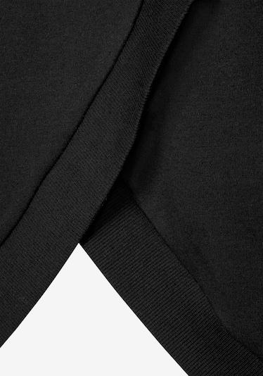 LASCANA Kapuzenloungeshirt in schwarz, Produktansicht