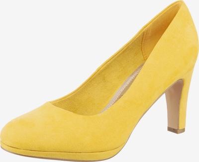 JANE KLAIN Plateau-Pumps in gelb, Produktansicht
