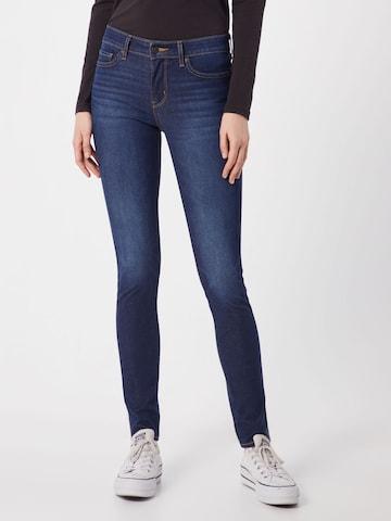 LEVI'S Jeans '711' in Blauw