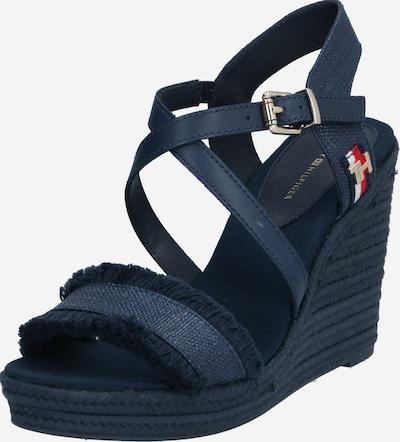 TOMMY HILFIGER Páskové sandály - tmavě modrá, Produkt