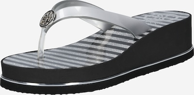 GUESS Slipper 'Enzy' in silber, Produktansicht