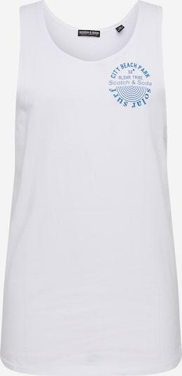 SCOTCH & SODA T-Shirt en blanc, Vue avec produit
