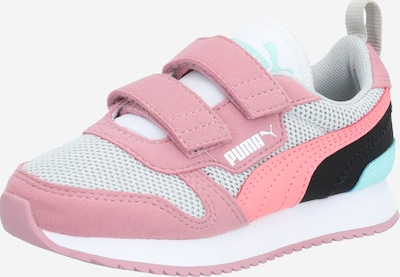 PUMA Schuhe 'R78 V PS' in hellgrau / rosa / schwarz, Produktansicht