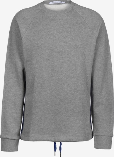 Calvin Klein Jeans Sweater ' Monogram Tape ' in grau, Produktansicht