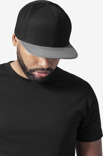 Flexfit Snapback ' Reflective Visor Snapback ' in dunkelgrau / schwarz, Produktansicht