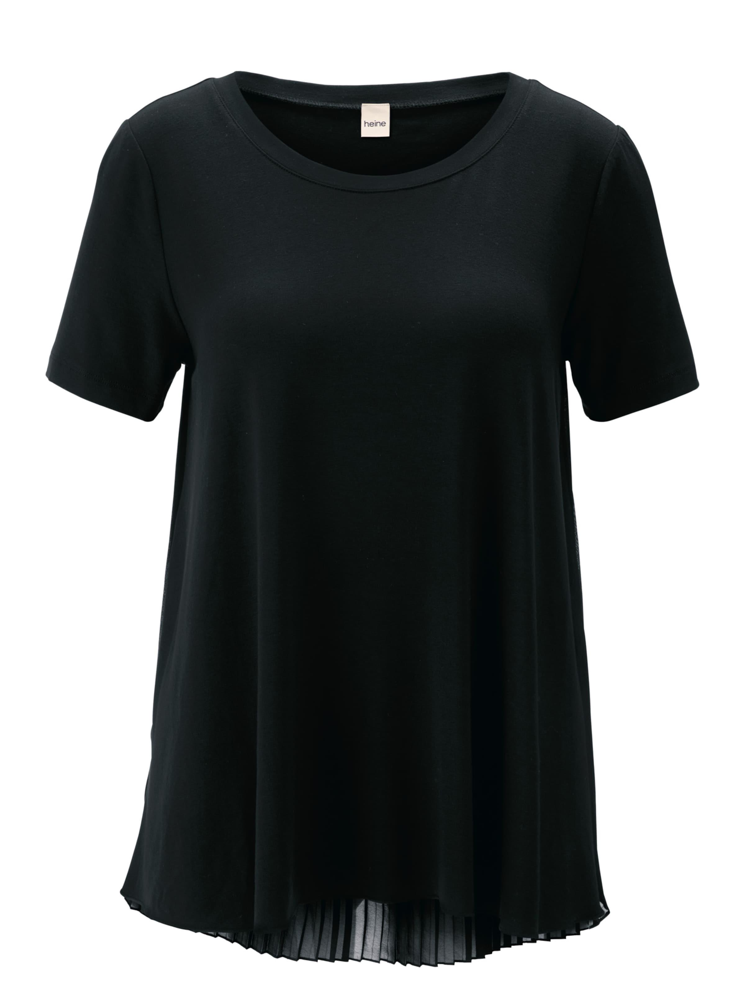 Noir Heine En shirt shirt Heine T T 7yYf6bg